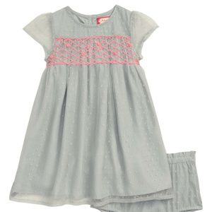 Ruby & Bloom Embroidered Tulle Dress NWT! Size 12M